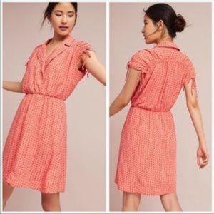 Maeve Carlotta Faux Wrap Dress Medium